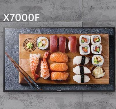 مشخصات تلویزیون های سری X7000F سونی