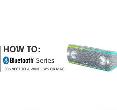نحوه اتصال دستگاه های بلوتوثی سونی به Windows یا Mac