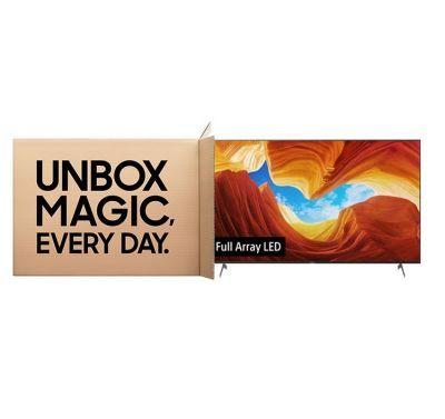 جعبه گشایی تلویزیون هوشمند X9000H
